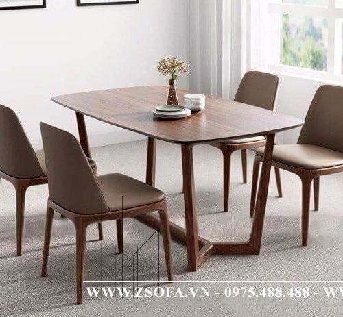 Mẫu bàn ăn bằng gỗ từ doanh nghiệp uy tín nhất