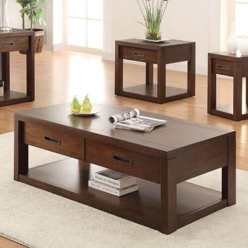 Chọn bàn sofa gỗ hiện đại từ doanh nghiệp